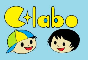 Cラボロゴと太郎と愛ちゃん